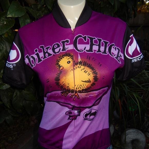 80a1cb21a WORLD JERSEYS Tops - WOMEN S CYCLING JERSEY BIKER CHICK SIZE SMALL